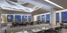 Sixty- Five Restaurant, New York, located on the 65th floor of 30 Rockefeller Plaza
