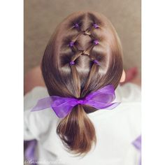 "Brown Haired Bliss ~ Little girl hairstyles ~ ""Today we did a hairstyle inspired by @sheerbraidedbliss for the #loveforsheerbraidedbliss twin! Chelsea...you're a pretty wonderful gal and great…"""