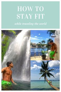 Looking for ways on how to stay fit while traveling? Let me guide you with these simple tips. Or read how you can get free gym access everywhere around the world. Exercise while traveling is not an easy thing, but these healthy travel tips will give you that extra little motivation to workout while traveling.