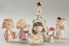 Lenox Peanuts Christmas Pageant Set