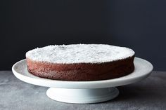 Flourless Chocolate Cake - This was amazing! I subbed 1 stick of butter for half a cup of non-fat Greek yogurt, and there was definitely no compromise in richness or flavor! Super creamy and very chocolately. This will be a repeat recipe for sure!
