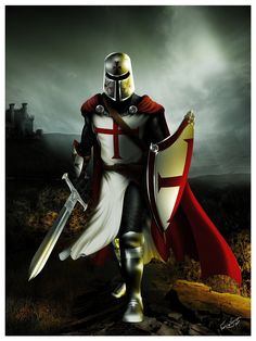 The Knights Templar warned us about the Muslims almost 1000 years ago. (Painting by Keith Doughty) Knights+Templar+Cross+|+knights+templar