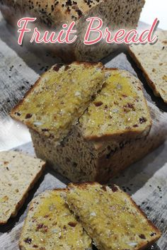 This fruit bread is so easy to make using your Thermomix, your whole family will love it Fruit Bread, Banana Bread, Healthy Recipes, Breakfast, Desserts, Food, Breakfast Cafe, Tailgate Desserts, Deserts