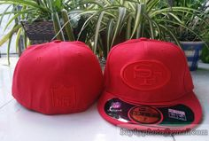 San Francisco #49ers Red Embroidery 59fifty #Fitted hats
