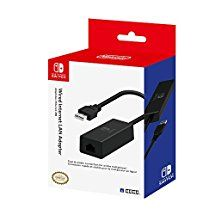 Nintendo Switch Wired Internet LAN Adapter by HORI Officially Licensed by Nintendo
