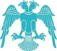 Seljuqs Eagle - Oghuz Turks - Symbol of the Qynyq tribe, a branch of Oghuzes Abbasid Caliphate, Les Runes, Imperial Eagle, Golden Horde, Double Headed Eagle, Bagdad, Stencils, Religious Symbols, Dibujo