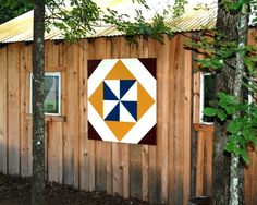 Barn Quilt...I need a barn quilt for my shed!