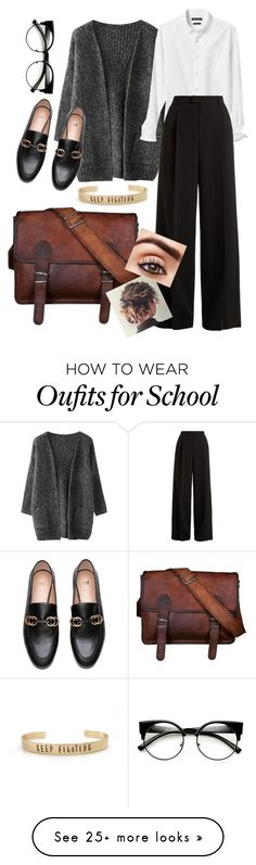 """Time for work"" by elsiedries on Polyvore featuring Banana Republic and RED Valentino"