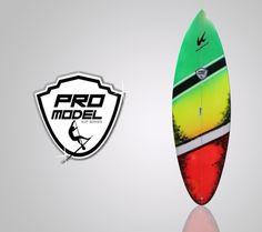 Cliente: Klimax Surfboards International; www.klimaxsurf.com/ Encargo: Diseño de logotipo Pro model sup; que representa una tabla de surfing  progresivo  para sup, rápida y para muchas maniobras. Más info en: www.klimaxsurf.co...