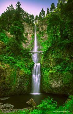 """Falling Grace"" peace, D.""Bodhi"" #Portland #Oregon #Columbia #River #Gorge #Multnomah #Falls #landscape #surreal #impressionist #expressionist #Dolica #Nikon #Nikkor #D800 #Lee Filters #Bodhi #Smith #Photography #LE #LongExposure #sunrise"