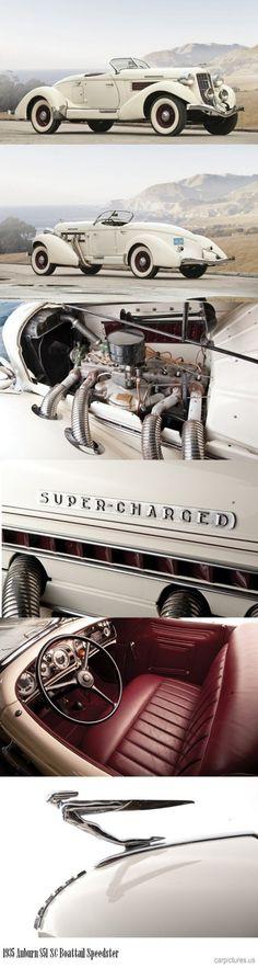 "specialcar: ""1935 Auburn 851 SC Boattail Speedster """