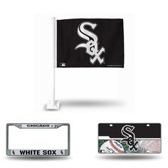 Chicago White Sox MLB 3 Piece Auto Fan Pack
