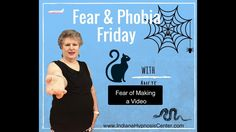 Fear and Phobia Friday - Gina Faces Her Fear Watch a live hypnosis Session! Hypnosis | Fear | Phobia | Live Session | Indiana Hypnosis Center | Angie J. Hernandez, C.Ht.