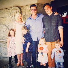 """Tori Spelling & Family: """"Happy Easter"""""""