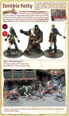 The Army Painter deliver products to help you paint models and miniatures quickly and to a stunning level with minimum effort. Zombicide Black Plague, Mini Paintings, Paint Set, Fantastic Art, Painting Tutorials, Dungeons And Dragons, Zombies, Inventions, Minis