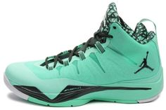 Amazon.com: Jordan Mens Super Fly 2 Green Glow/White/Black Spruce 599945-330: Shoes