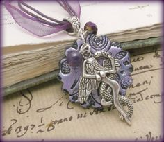 Goddess Lilith pendant necklace with by Spellboundoriginals, $17.99