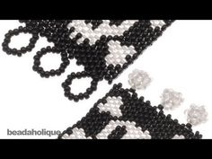 Starting & ending thread on a bead loom. - YouTube