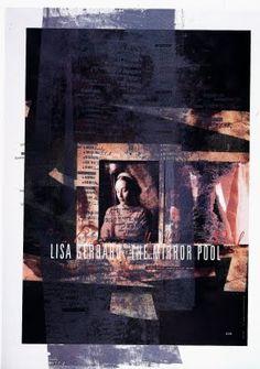 poster for Lisa Gerrard, by Vaughan Oliver, speaking for LongLunch on Feb 2013 Poster Design, Graphic Design Art, Lisa Gerrard, Dead Can Dance, Communication Design, Music Icon, Graphic Illustration, Illustrations, Art Direction