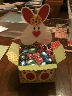 bunny baskets - Big Shot & scallop envelope die