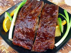 Zesty Sticky Thai Spareribs