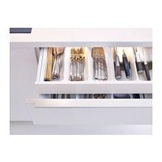"OMLOPP LED light strip for drawers, aluminum color - aluminum color - 34 "" - IKEA"