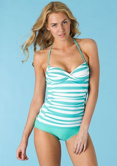 Sweetheart Tankini (D-cup) at Alloy