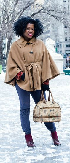 Statement Pieces for Cold Weather / Looking Fly On A Dime