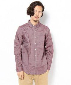 WEGO MEN'S / オックスフォードボタンダウンLSシャツ(シャツ・ブラウス)