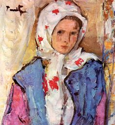 Paintings of Spring: Nicolae Tonitza aprilie 1886 - 26 februarie pictor român Charles James, Painting People, Art Database, Naive Art, Salvador Dali, Mother And Child, Banksy, Savage, Art Gallery