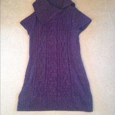 Sweater dress INC size medium. Short sleeve sweater dress. INC International Concepts Sweaters