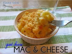 Goat Cheese Mac & Cheese