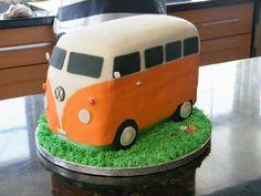 Volkswagen Van Cake
