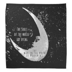 Man in the Moon Bandana