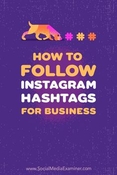 Do you use hashtags on Instagram? Wondering how to see posts with specific hashtags in your regular Instagram feed and stories? In this article, you��ll discover how to use Instagram��s Follow Hashtag feature to monitor relevant topics and campaigns. #Ins