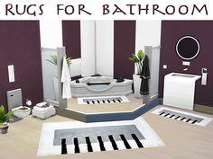 Sims 4 CC's - The Best: Bathroom Rugs by Bildlichgesehen