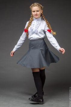 Купить Юбка шестиклинка (89) - юбка детская школьная, юбка для девочки, юбка в школу