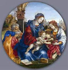 Filipino Lippi The Holy Family