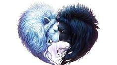 Resultado de imagen para black and white lion
