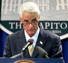 Former GOP Gov. Charlie Crist Steps Left, Endorses Obama