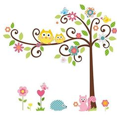 $5.99  - HITREE DIY Home Decor Removable Vinyl Wall Sticker Cute Cartoon Bathroom Baby Room Nursery Kids Decor Wall Decal *** Click image for more details. (This is an affiliate link)