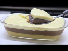 DEPOIS DESSE VÍDEO VOCÊ NÃO VAI FICAR MAIS SEM SOBREMESA EM CASA - YouTube Mousse, Pasta, Milkshake, Cheesecakes, Cake Recipes, Food And Drink, Low Carb, Cooking Recipes, Pudding