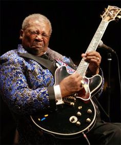 BB King, softest hands in the blues world. Signature vibrato. Knows when NOT to play a note.