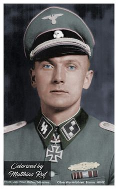 SS-Obersturmführer Bruno Hinz