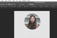 photoshop lesson, photoshop circle cropping, crop circle image