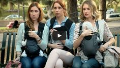 "OK this is funny :)  https://www.youtube.com/watch?v=Me9yrREXOj4#t=17  Titled ""The Mother 'Hood,"" the video shows a playground confrontation between moms and dads who illustrate the different decisions parents make when it comes to raising their babies."