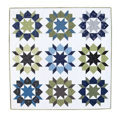 Additional Images of Swoon Quilt Kit by Thimble Blossoms - ConnectingThreads.com