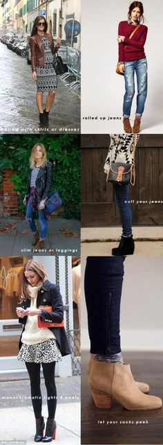 How To Wear Short Boots | Hellobee