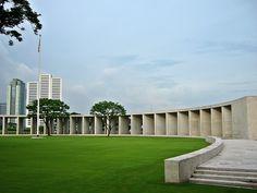 US War Memorial, Philippines Intramuros, Manila, Philippines, Sidewalk, War, Memories, Places, Memoirs, Lugares