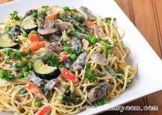 Manila Spoon: Pasta Primavera (Springtime Noodles)
